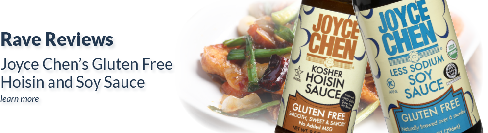 Gluten Free Hoisin and Soy Sauce