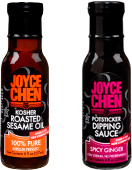 Kosher Pareve Asian Products - Sesame Oil - Soy Sauce - Hoisin - Dipping Sauces
