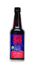 LESS, LOWER, AND LOW SODIUM - GLUTEN FREE SOY SAUCE, ltBRgt DUCK SAUCE,  MILD AND SPICY DIPPING SAUCES