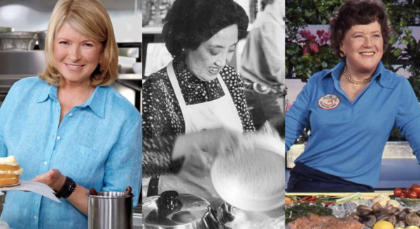 Martha Stewart Joyce Chen Julia Childs Montage