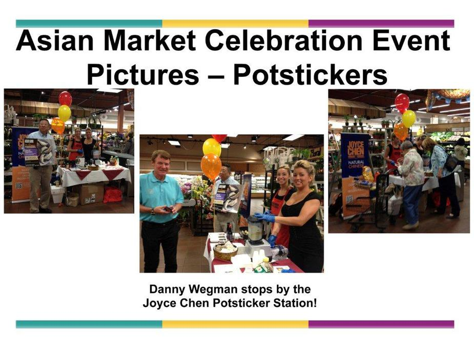 WEGMANS FLAGSHIP STORE ROCHESTER NY br SUCCESSFUL JOYCE CHEN POTSTICKER DEMO