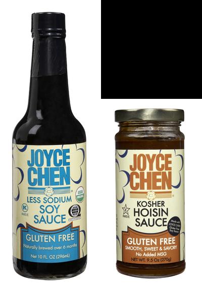 Joyce Chen Gluten Free Labels Match