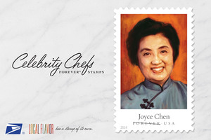 BON APPETITE HIGHLIGHTS CELEBRITY CHEF FOREVER STAMPS