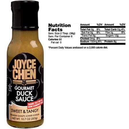 Joyce Chen Premium Gourmet Duck Sauce - Kosher Parve