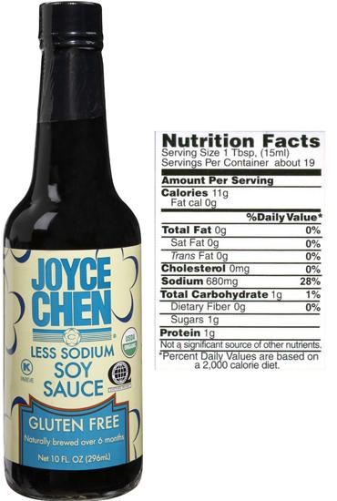 Joyce Chen Gluten Free Soy Sauce - Kosher Parve