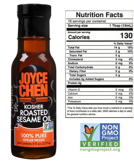 Joyce Chen Kosher Roasted Pure Sesame Oil