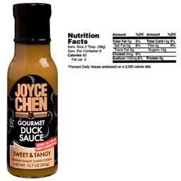 Joyce Chen Premium Gourmet Duck Sauce  Kosher Parve