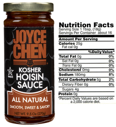 Joyce Chen Hoisin Sauce  All Natural Kosher Parve