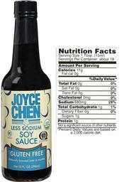 Joyce Chen Gluten Free Soy Sauce  Kosher Parve