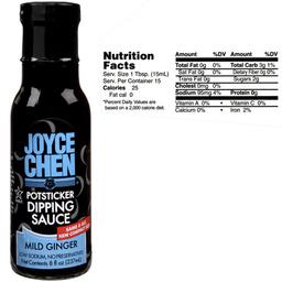 Joyce Chen Mild Potsticker Dipping Sauce  Kosher Parve