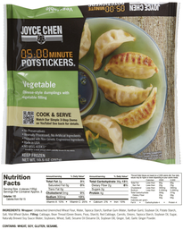 Joyce Chen 0500 Minute Microwavable Potstickersreg