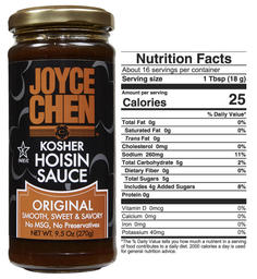 Joyce Chen Hoisin Sauce  All Natural Kosher